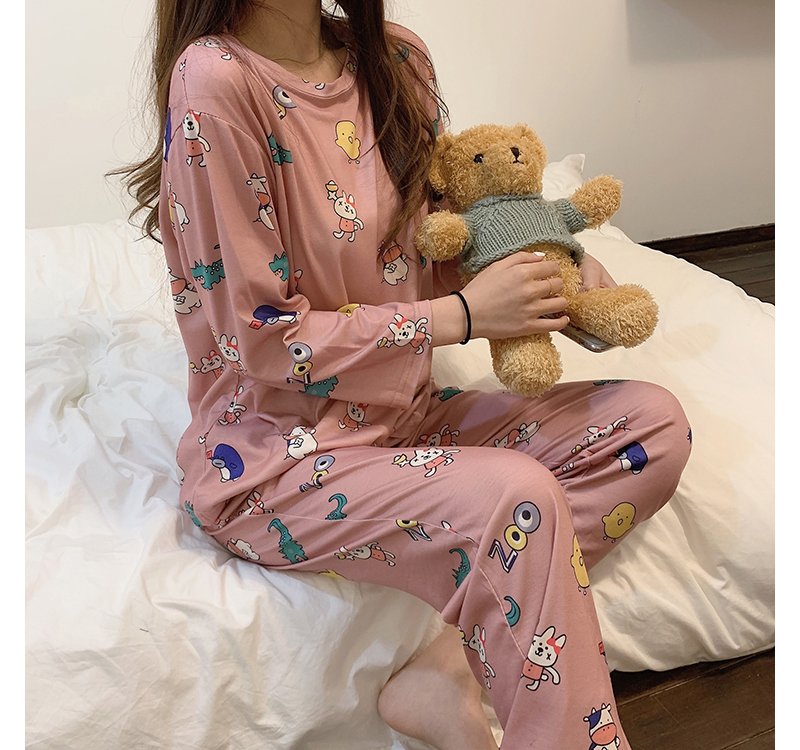 ho3622 animal pajama set