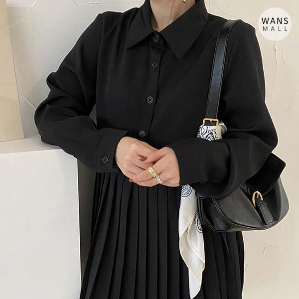 op3618 yoni pleated mini Dress