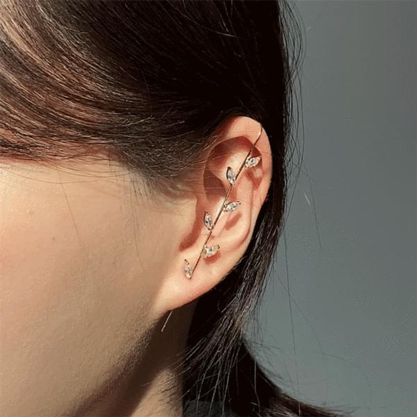 Collection of 10 Point Crawler Hook Earrings 耳環