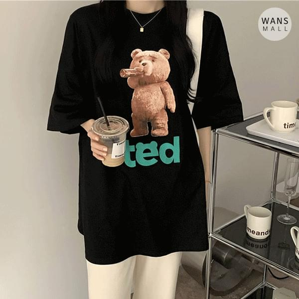 tt3619 teddy round neck short sleeve T-shirt (Delayed delivery)