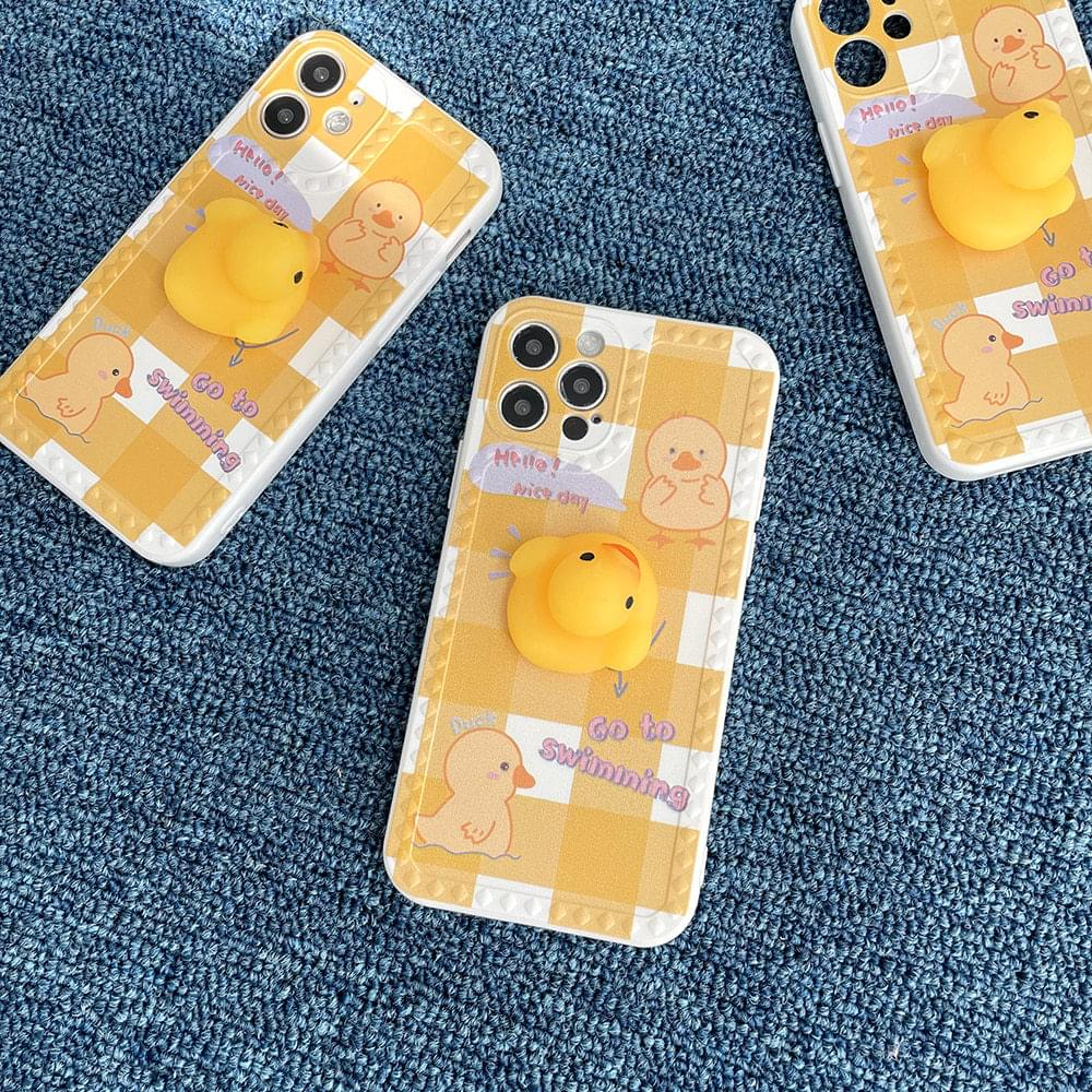 Molkang Swimming Duck Full Cover iPhone Case 手機殼