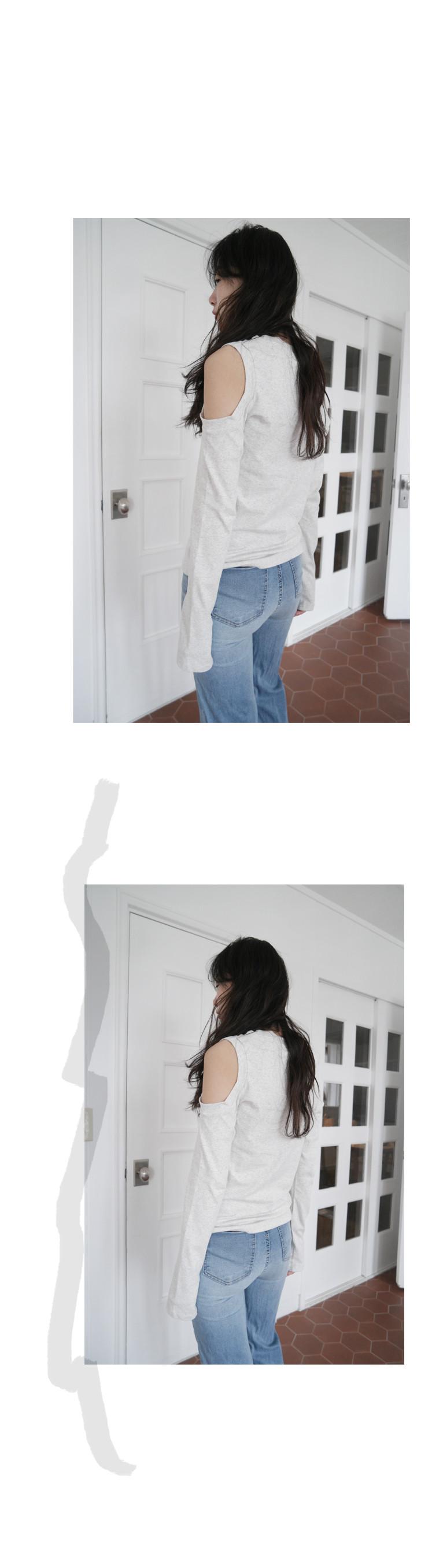 shoulder round point tee