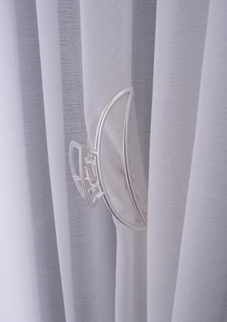 silver tone hair pin