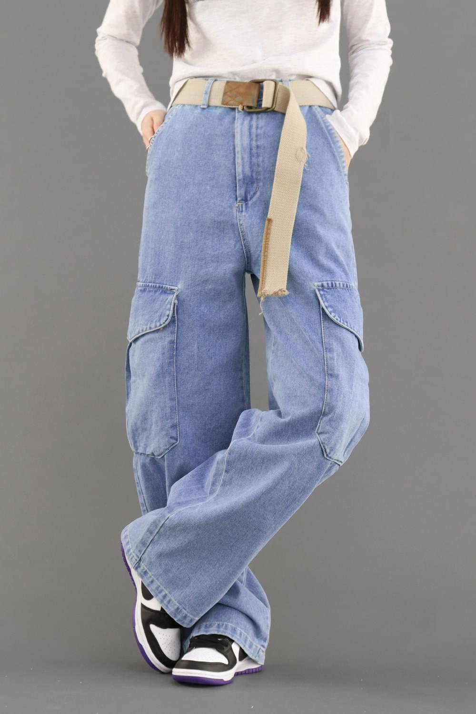 Look denim Pants