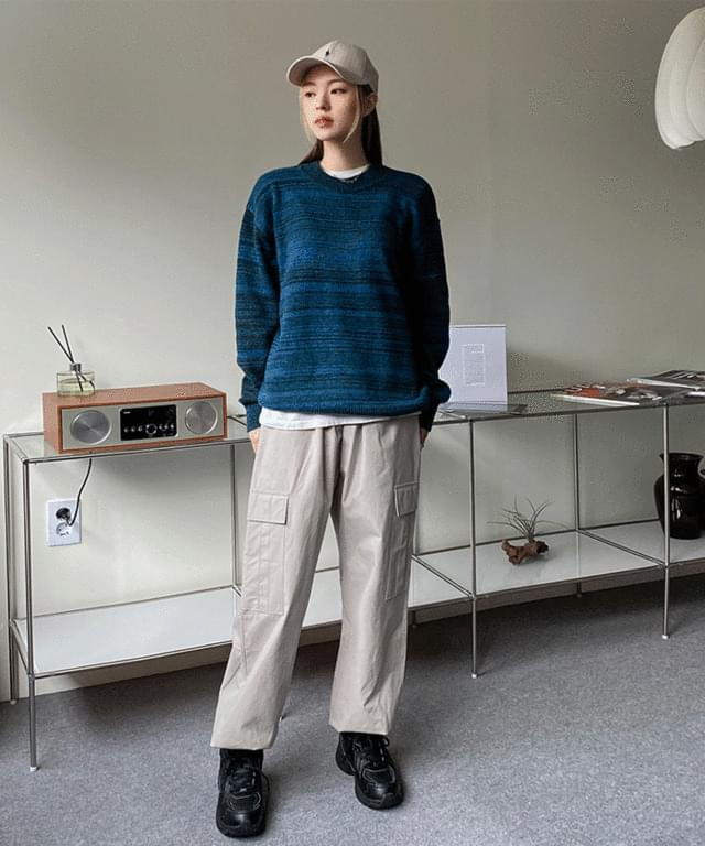 Catharine banding cargo jogger trousers
