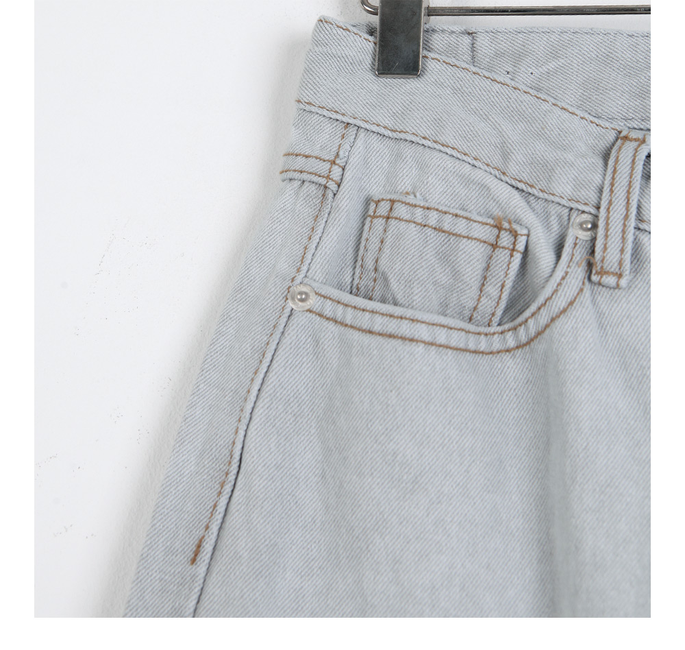 Forge wide denim trousers