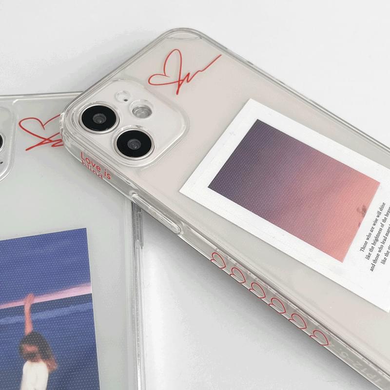 ラブスブラインドフルカバーiPhoneケース