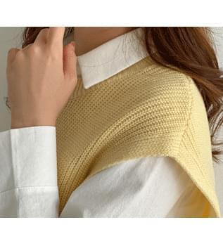 Side Ribbon Knitwear Vest #108892