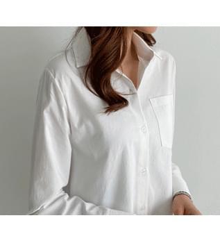 Bio Faded Pocket Shirt #47828