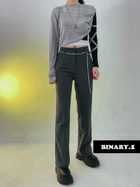 Semi Flared slacks pants 長褲