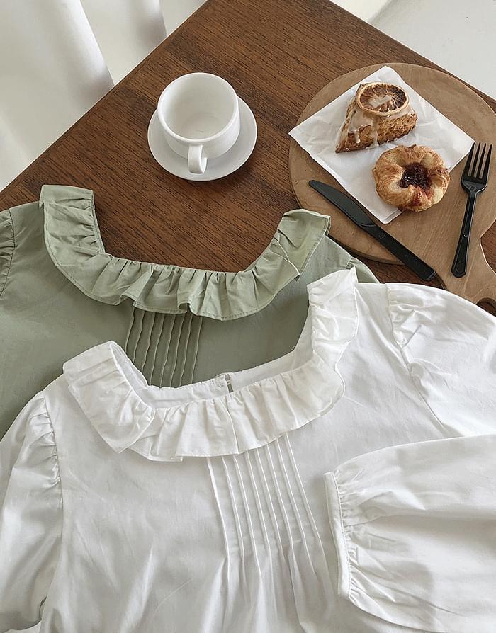 Mona pintuck blouse 襯衫