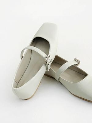Calm Mary Jane Flat Shoes 1cm