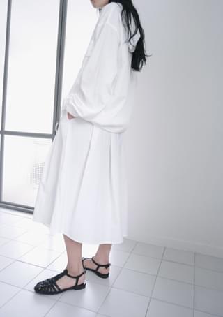 crispy banding skirt