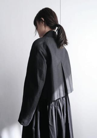 avant shape crop jacket