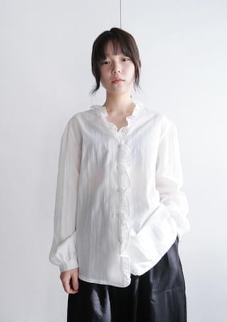 lala frill blouse