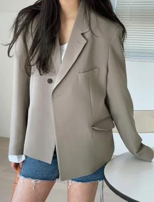 Celia one-button tailored jacket 夾克外套
