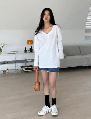 Salt vintage cut denim short pants 短褲