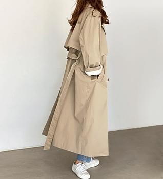 Editor Maxi Trench Coat #65969