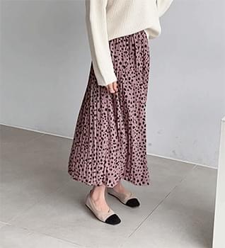 Rachel Pleated Banding Skirt #51306 skirt