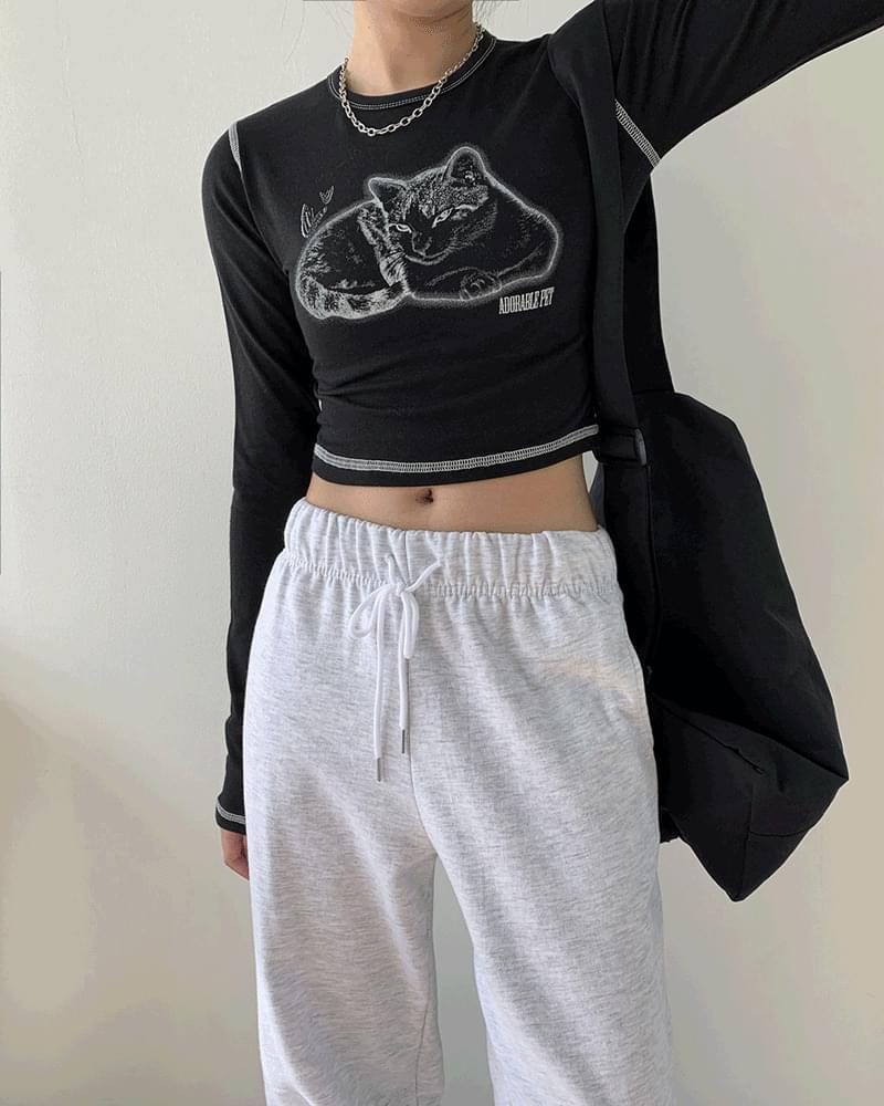 Rudy Basic Churi Wide Jogger Pants pants