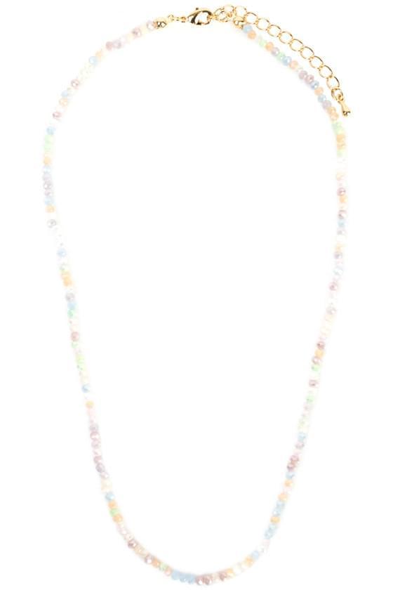 Botana glass necklace necklace