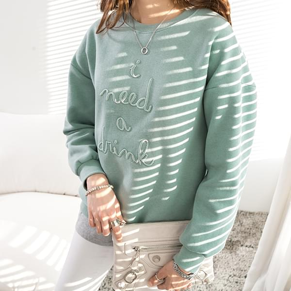 Mayyou embroidery lettering T-shirt #103136