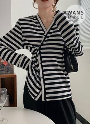 cd3690 peer V-Neck button cardigan 開襟衫