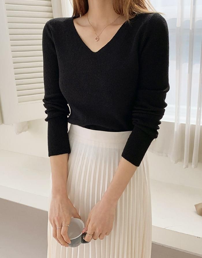Another Basic V-Neck Knitwear 針織衫