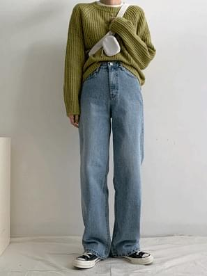 Noah Cover Wide Denim Pants