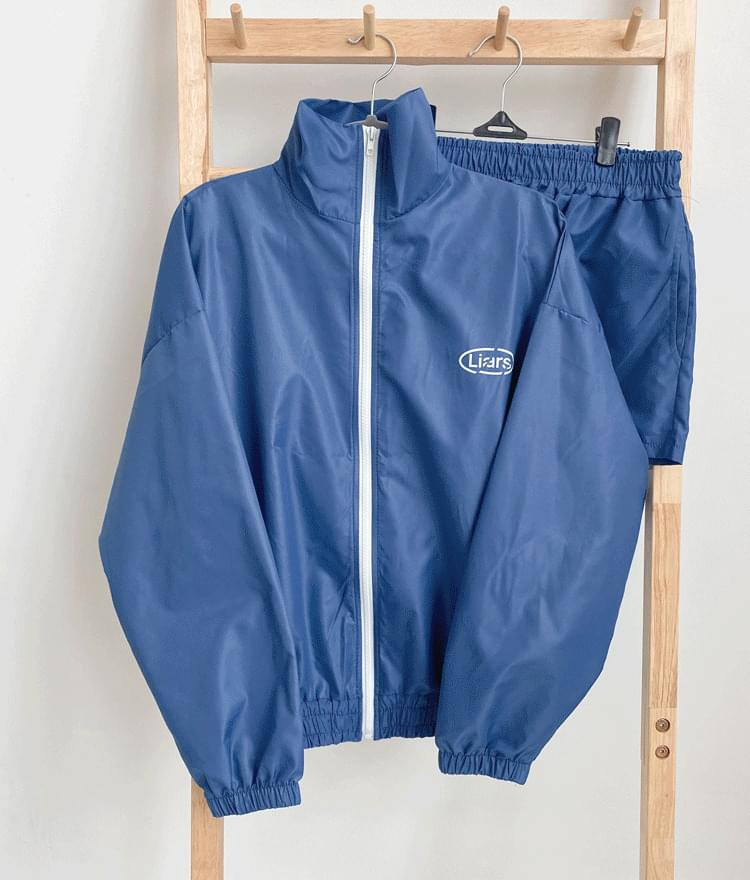 Upper and lower training zip-up