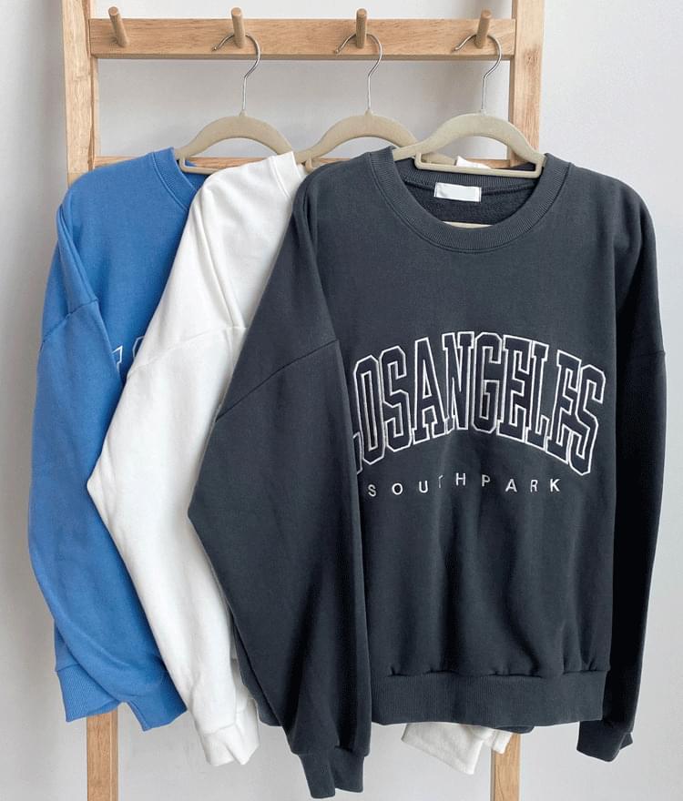 LOS ANGELES Embroidery Sweatshirt