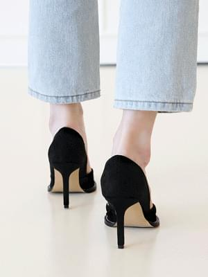 Line real shoes stiletto high heels 9cm 跟鞋