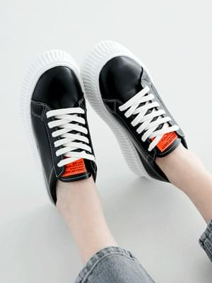Wansotem Thick Heel Sneakers 4cm