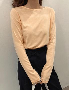 Mellow Tencel Long-sleeved T-shirt