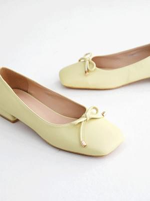 Sweet Ribbon Flat Shoes 2cm 平底鞋