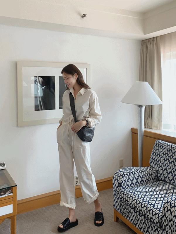 Pastel Jump Suit 及膝洋裝