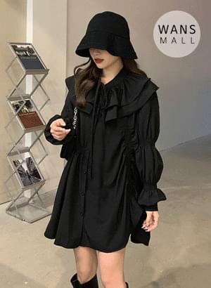op3697 Der Shirring Dress 半身裙