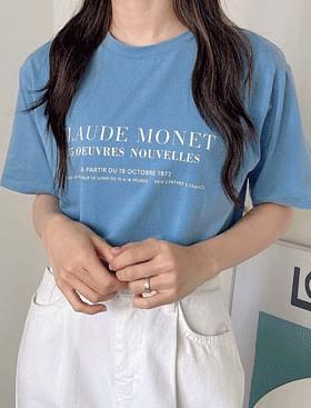 Monet Lettering T Short Sleeve