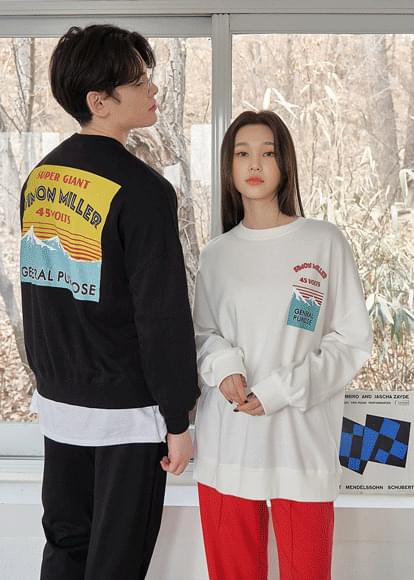 Unisex Simon Miller Printing Sweatshirt