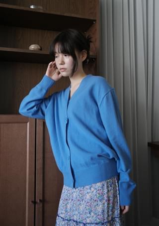 2-way cashmere cardigan
