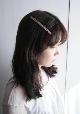 shell detail hairpin