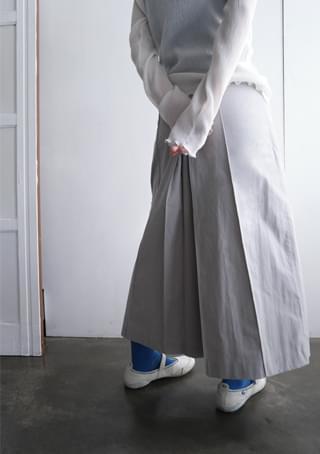 delicate skirt type pants skirt