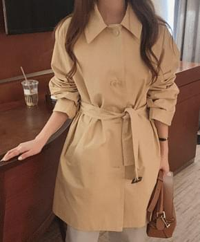 New line half trench coat