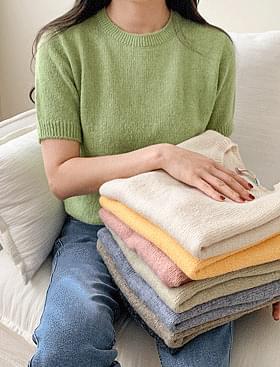 Rupmi Short Sleeve Knitwear