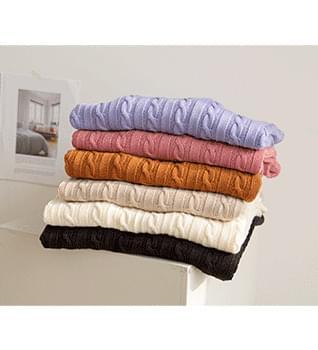 Soft Twisted Knitwear # 107951