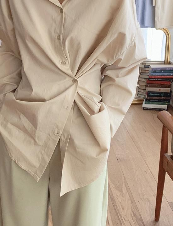 Pony wrap shirt