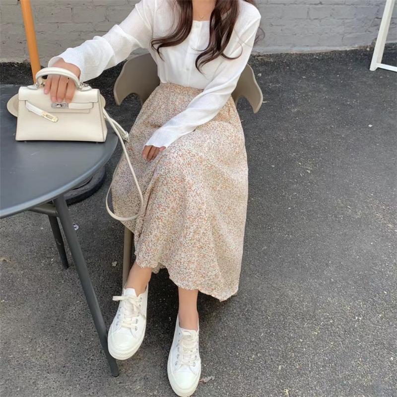sk3718 sally flower skirt