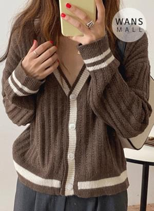 cd3725 add color cardigan
