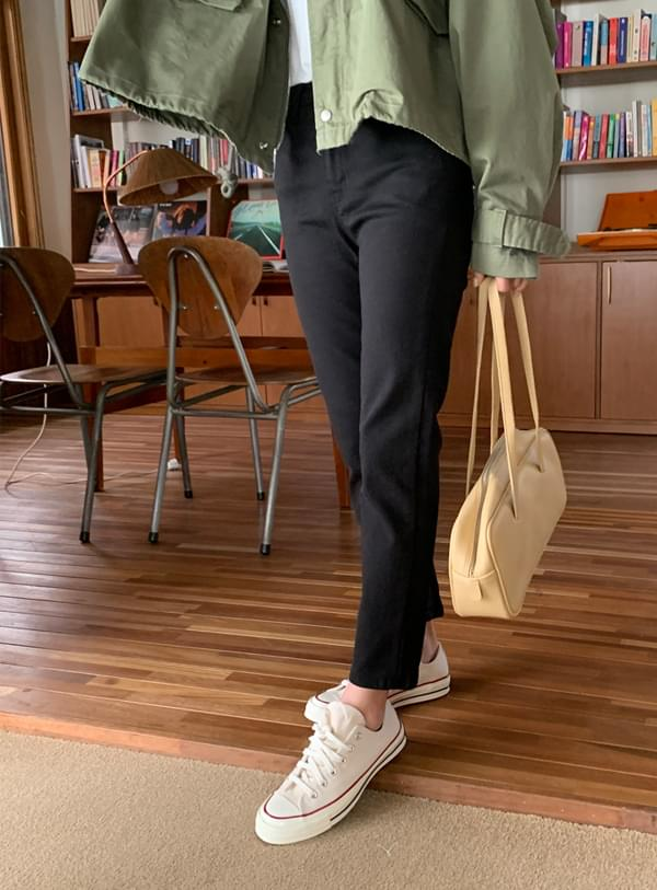 Chet pants / daily black 長褲