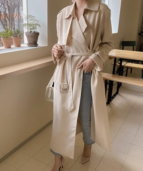 Fend trench coat-3color